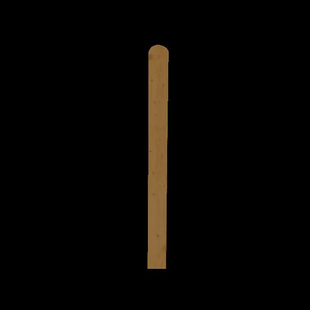 Høvlet stolpe 7x7x180cm. Teak